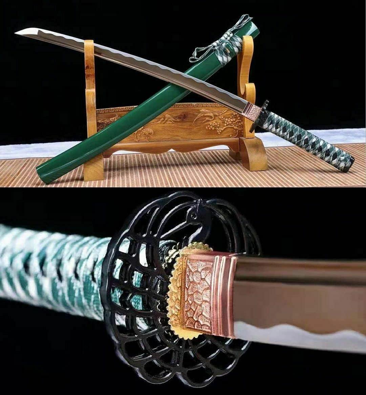 ZPGP Some reservation Battle Albuquerque Mall Japanese Samurai Katana Stee Sharp Sword 1095 Carbon