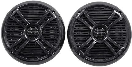 """$36 » Pair Rockville RMSTS65B 6.5"""" 800w Waterproof Marine Boat Speakers 2-Way Black (Renewed)"""