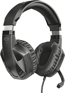 Trust Gaming Cascos Gaming GXT 412 Celaz Auriculares Gamer con Micrófono Plegable, Cable Trenzado de 1 m, para PS4, PS5, P...