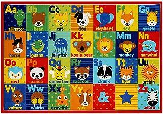 Smithsonian Rug ABC Alphabet Learning Carpets Bedding...
