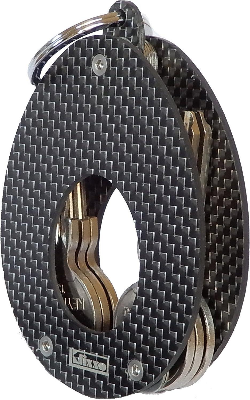Neu Klixxo Oval Schlüsselfänger in Schwarz   Kompakter und und und praktischer Schlüsselorganizer B0794ZVMTL cd62ce