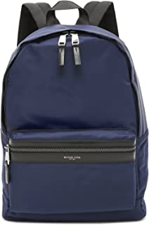 Michael Kors Men's Kent Nylon Backpack, Indigo, One Size