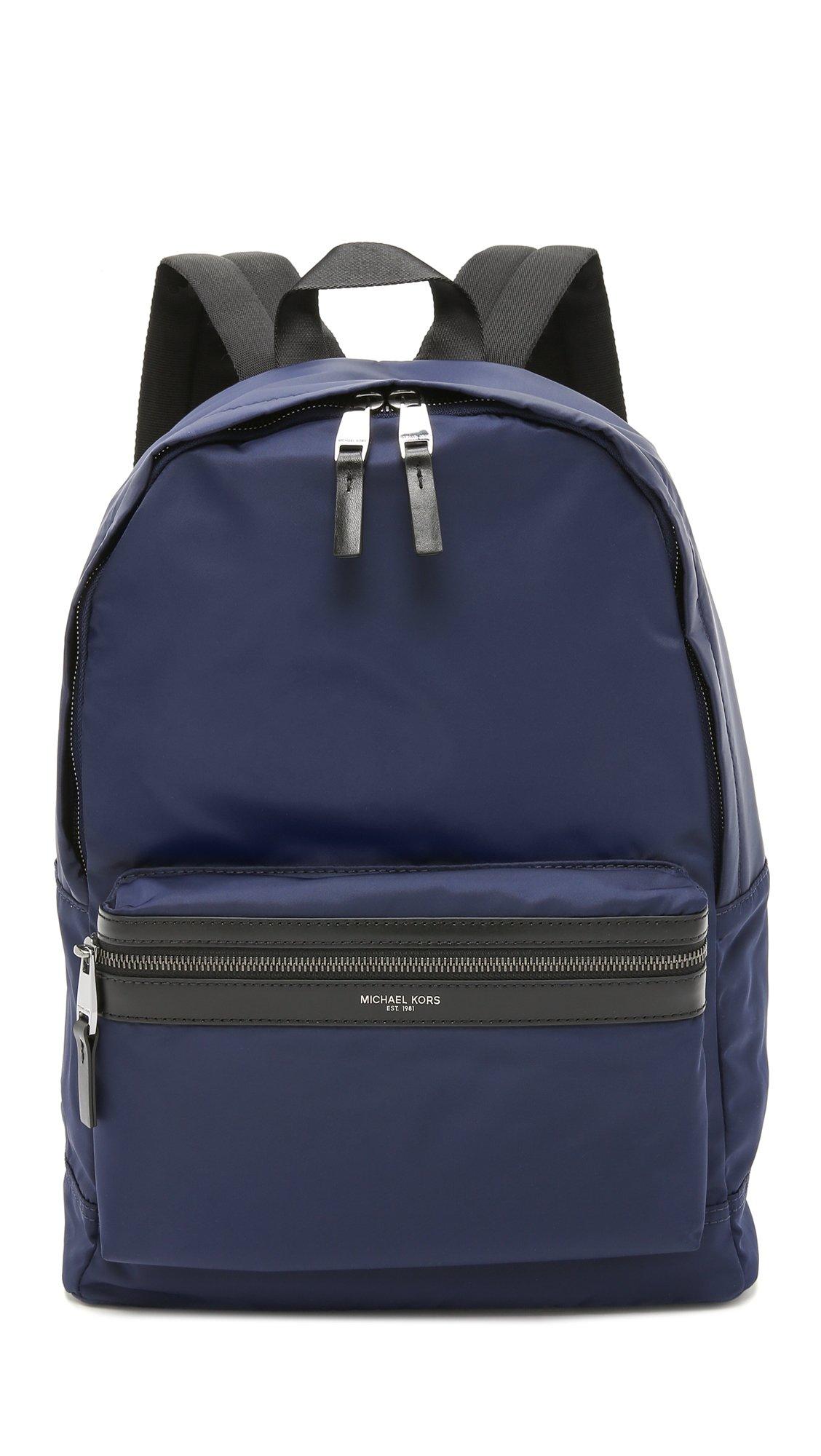 Michael Kors Nylon Backpack Indigo