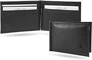 Dallas Cowboys NFL RFID Blocking Shield Black Leather Moneyclip Wallet