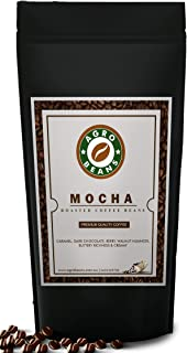 Mocha Coffee Beans - Agro Beans ( Freshly Roasted Award Winning Coffee Beans) (Whole Beans, 1kg)