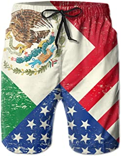 mexican flag shorts
