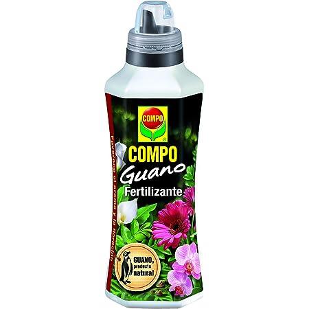 COMPO Fertilizante con guano para plantas de interior, balcón y terraza, Fertilizante líquido, 500 ml