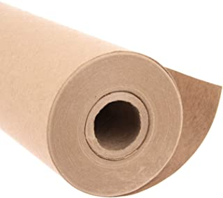 Eco Kraft Wrapping Paper Roll (Jumbo Roll) | Biodegradable Recycled Material | Made in the USA | Multi-use: Natural Wrappi...