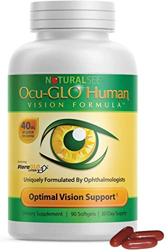 new arrival Ocu-GLO Human online Vision Formula Eye new arrival Health Support Capsules, 90ct online