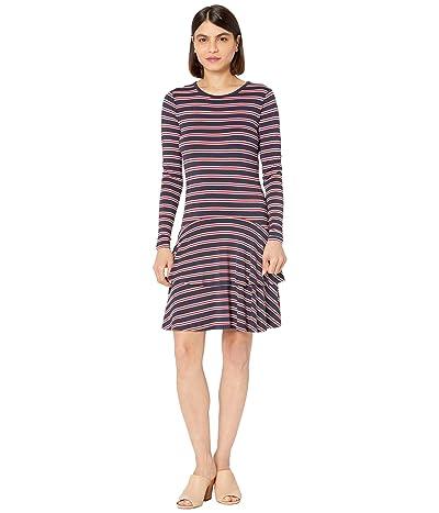 MICHAEL Michael Kors Petite Crew Neck Flounce Dress Women