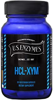 US HCL-XYM Betaine HCL (Hydrochloride) 93 Caps Enzymes