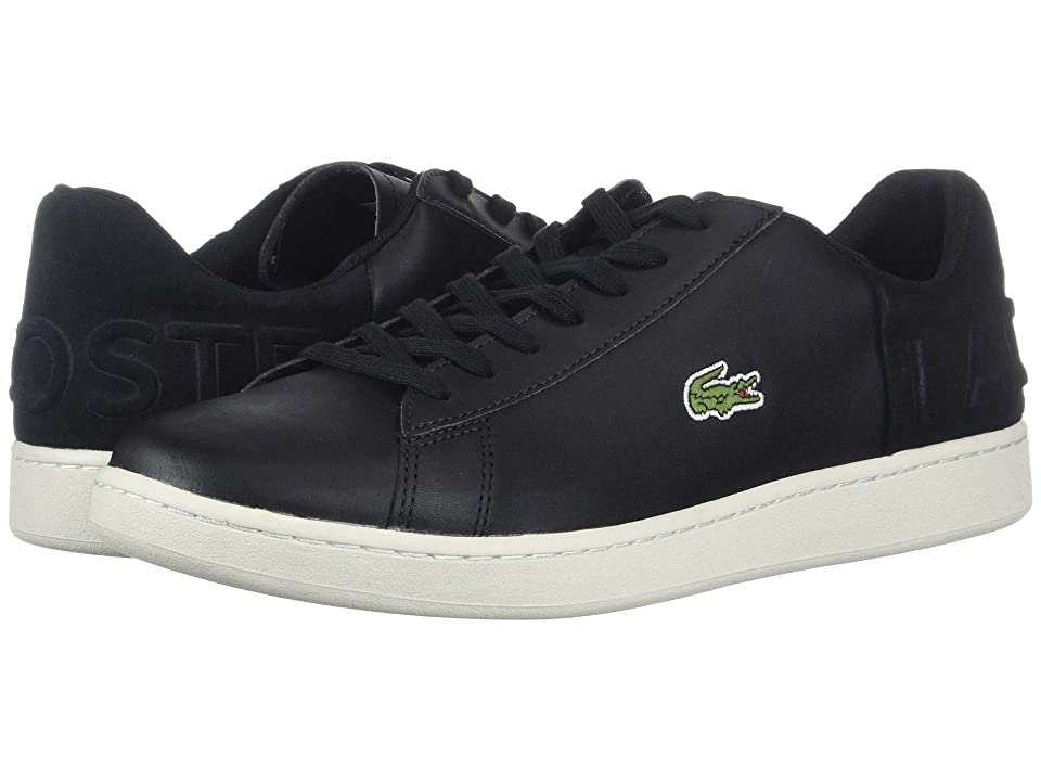 Lacoste Carnaby Evo 418 1 (Black/Off-White) Men