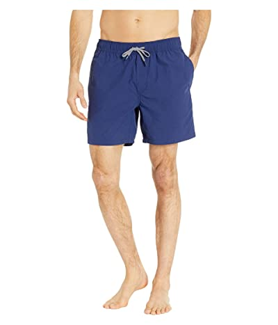 Reyn Spooner Solid Swim Trunks (Medieval Blue) Men