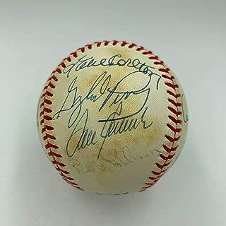 3,000 Strikeout Club Multi Signed Baseball Tom Seaver Bob Gibson 8 Sigs PSA DNA
