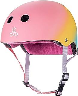 Triple Eight کلاه ایمنی محافظ عرق کش مخصوص اسکیت بورد ، BMX و رولر اسکیت