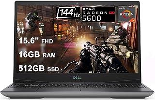 Dell 2021 Flagship G5 15 ゲーミングノートパソコン I 15.6インチ FHD 144Hz I AMD 8-Core Ryzen 7 4800H I 16G RAM 512GB SSD I AMD RX 5600M 6G...