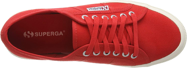 Superga 2750-Jcot Classic Rosso Red 975