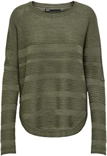 Only Onlcaviar L/S Pullover Knt Noos Felpa Donna