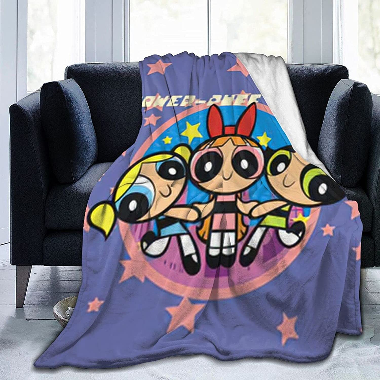 Yesbddfbc The-Powerpuff-Girls Blanket Super Special SALE Popularity held Soft and Comfortable Warm