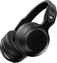 Skullcandy Hesh 2 Bluetooth Wireless Over-Ear Headphones with Microphone, Supreme Sound and Powerful Bass, 15-Hour Rechargeable Battery, Soft Synthetic Leather Ear Cushions, Black