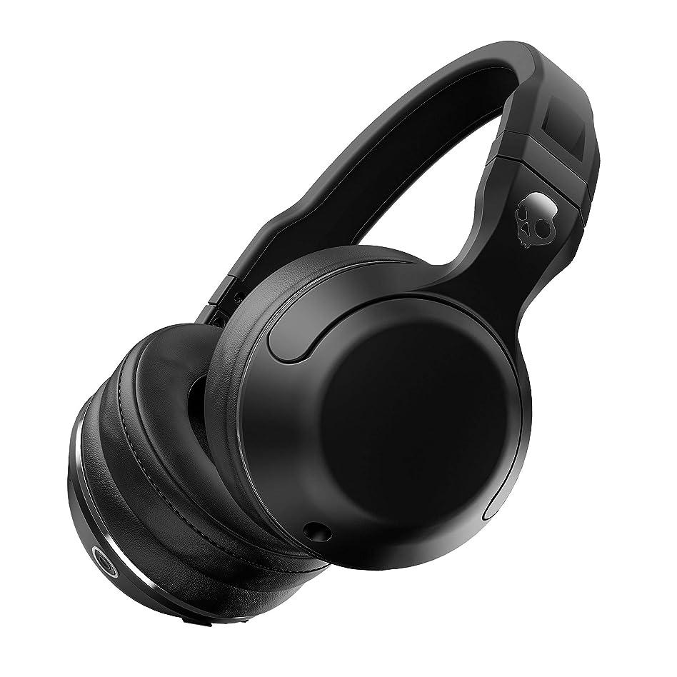 有名人信号繊細Skullcandy(スカルキャンディー) HESH2 Wireless (Bluetooth) ヘッシュ2 ワイヤレス ブルートゥース ヘッドホン BLACK [並行輸入品]