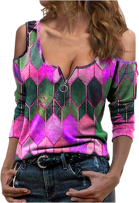 AODONG Summer Tops for Womens,Women Buttons Short Sleeve Trendy Blouse T-Shirt Pullover Henley Shirts