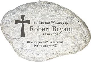 personalized memorial rocks