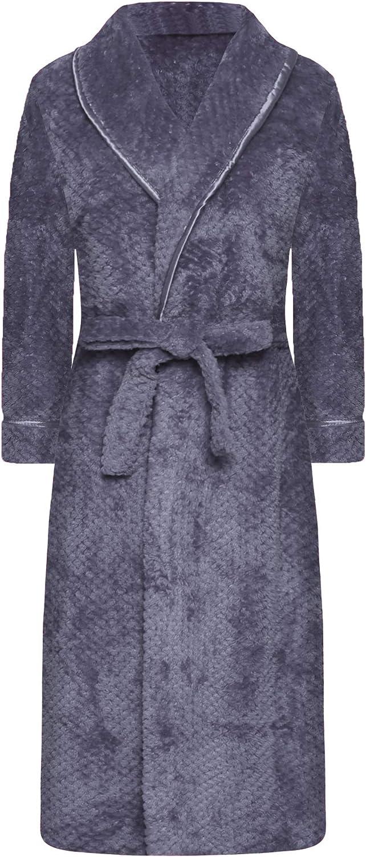 EPLAZA Womens Long Full Ranking TOP2 Fuzzy Limited price sale Fleece Robe Plush Bathrobe Co Warm