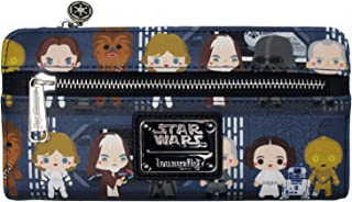 Loungefly x Star Wars Death Star Chibi Characters Printed Wallet