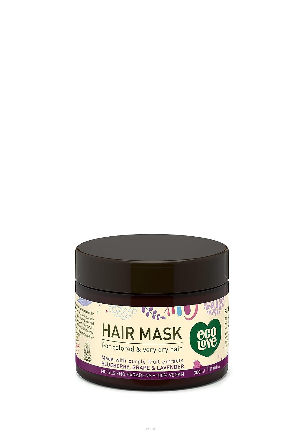 不可能な無秩序アジア人Hair mask for colored and very dry hair 11.8 fl.oz. 350 ml