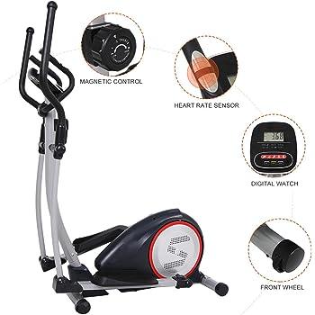 No bland - Bicicleta elíptica, ideal para entrenamiento funcional, 2 en 1, bicicleta estática: Amazon.es: Deportes y aire libre