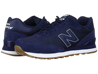 New Balance Classics ML515 (Pigment/White Suede/Mesh) Men