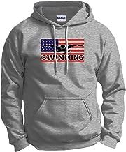 ThisWear American Pride Swimming Swim Hoodie Sweatshirt