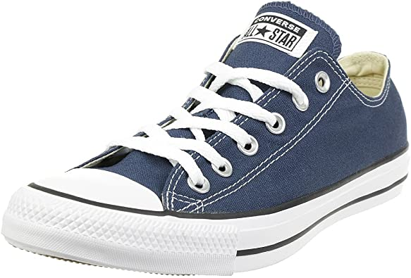 Amazon.com | Converse Unisex Chuck Taylor All Star Low Top Blue ...