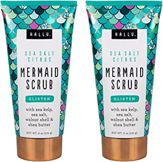 mermaid body scrub