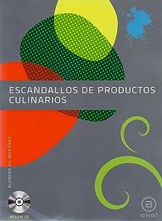 Escandallos de productos culinarios