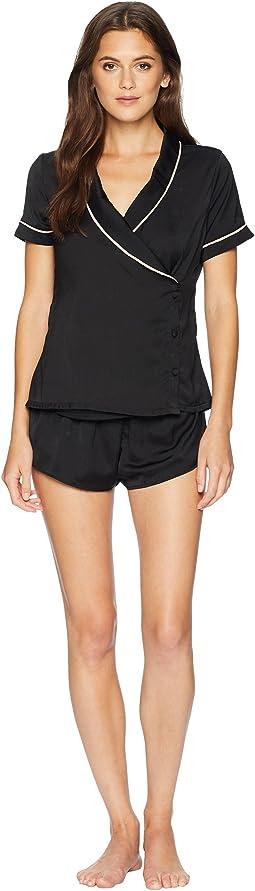 Kara Shirt and Shorts Pajama Set