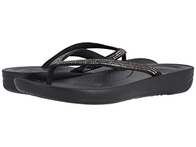FitFlop Iqushion Sparkle (Black) Women