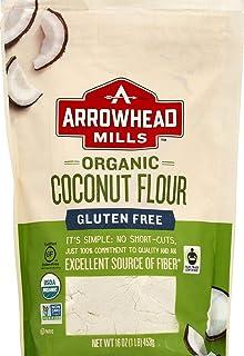 Arrowhead Mills Organic Coconut Flour, Gluten Free, 16 Ounce Bag