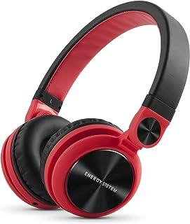 Energy Sistem Headphones DJ2 Red (Auriculares Estilo DJ, Fli