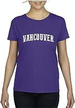 Vancouver Canada British Columbia Traveler`s Gift Women`s Short Sleeve T-Shirt