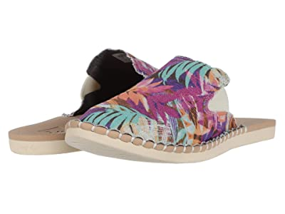 Reef Escape Mule Prints (Sunset Palms) Women