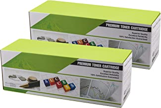 OfficePro 2k17 HP & Canon Toner Cartridge Q2612A Compatible with HP & Canon Printers 2000 Pages 2 Packs