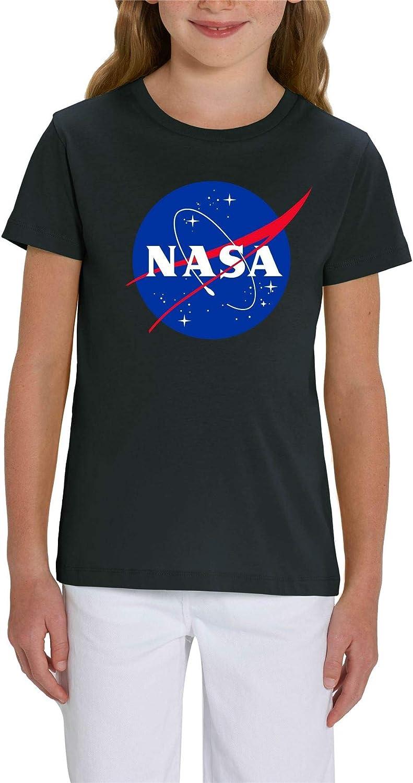 NASA Classic Logo Children's Unisex Black T-Shirt