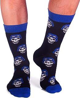 Pirin Hill, Calcetines coloridos para hombre, fabricados en la UE, distribuidos por el fabricante, Colour Cotton Socks.