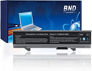 BND Laptop Battery for Dell Latitude E5500 E5510 E5400 E5410 Series, fits P/N KM742 WU841 T749D [6-Cell Li-ion 5200mAh/58Wh]