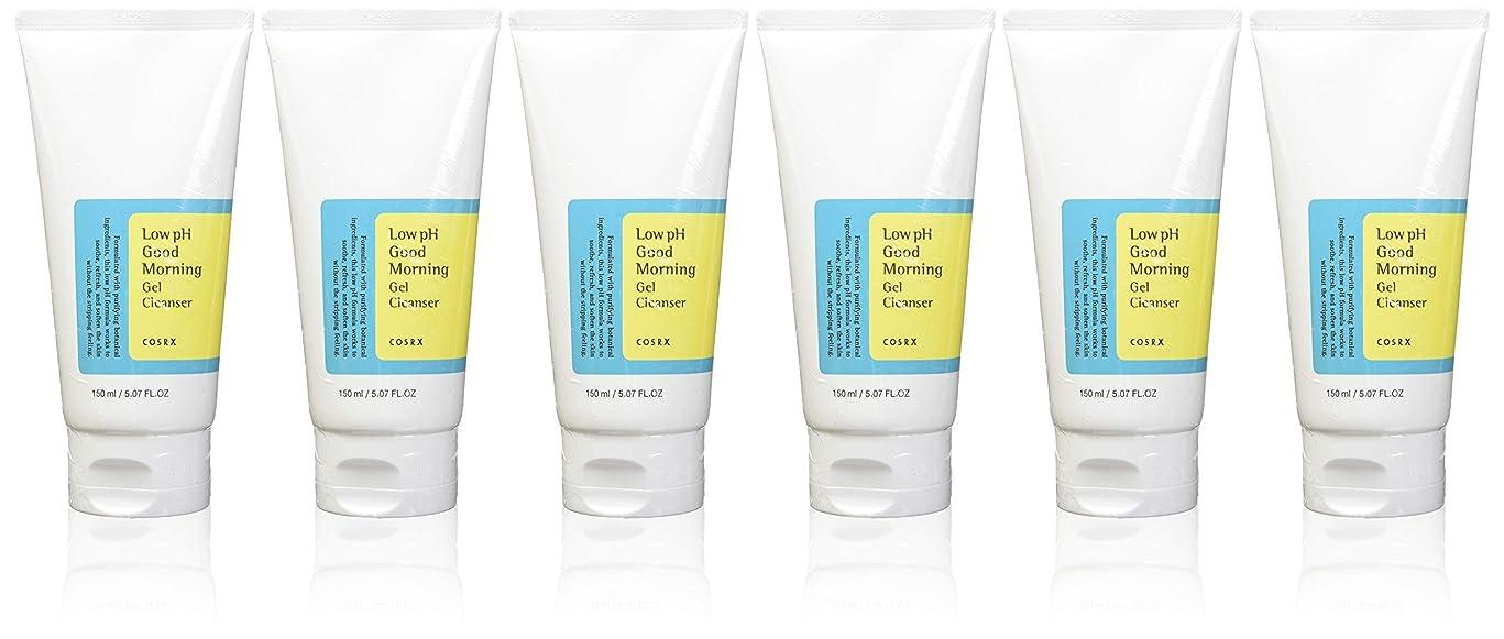 ミンチ屋内で辛い(6 Pack) COSRX Low pH Good Morning Gel Cleanser (並行輸入品)