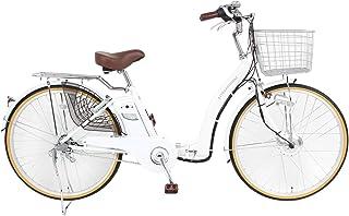 21Technology 電動アシスト自転車 (24インチ) 自転車 電動自転車 折畳 折畳電動自転車 形式認定 型式認定 シマノ内装3段変速 リチウムイオンバッテリー DA243