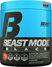 Beast Sports Nutrition – Beast Mode Black – Ultimate Workout Supplement – High Energy Production – Maximizes Strength & Muscle Gain – Supports Healthy Testosterone Levels – Beast Punch 30 Servings