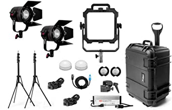 Fiilex X316 Gaffer's Kit, 1 x Matrix, 2 x P360 Pro Plus LED Lighting Kit